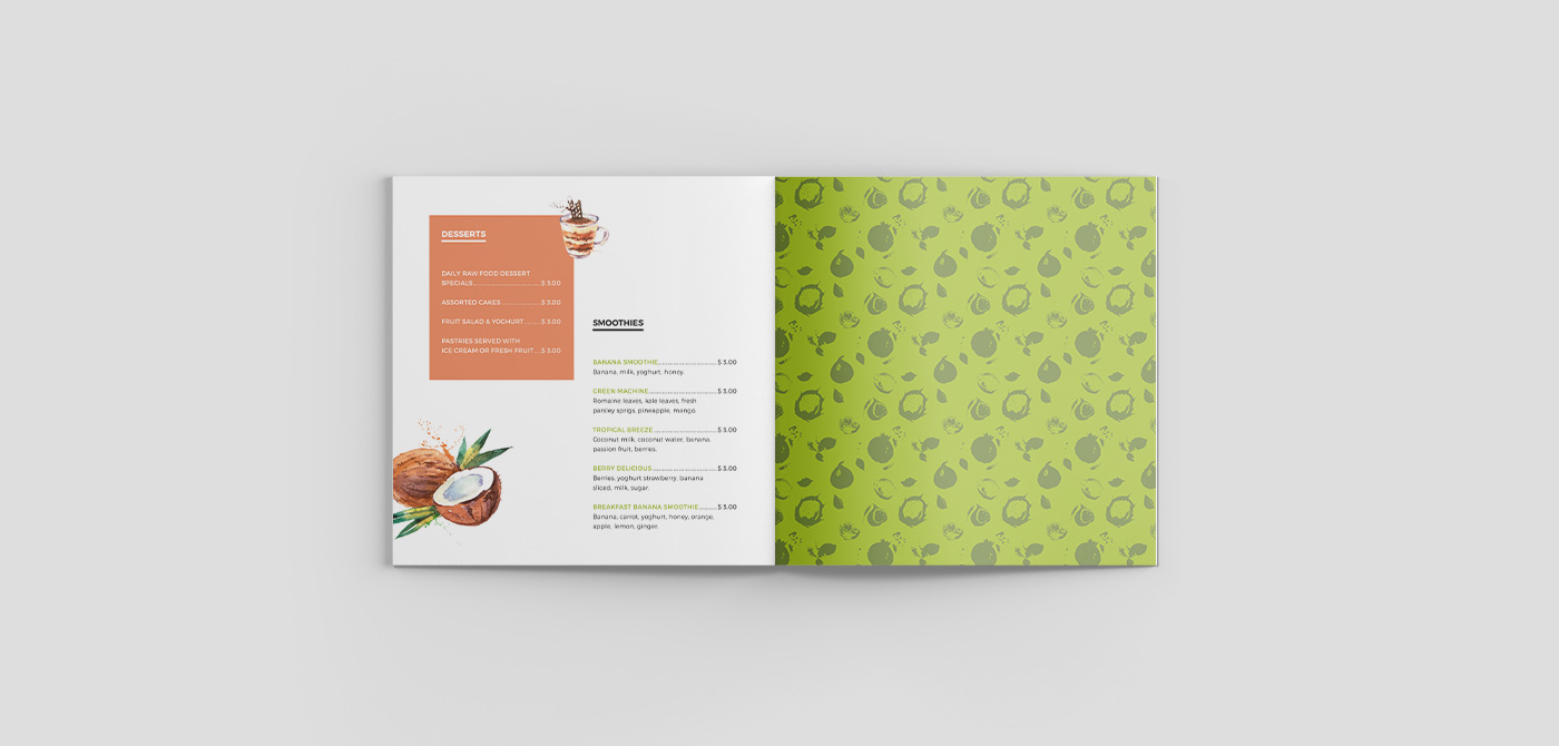 whaim_green_cultural_travel_menu_branding